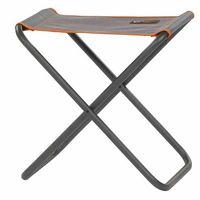 Campinghocker Klapphocker Kim Portal Outdoor Stahl Textil grau-orange