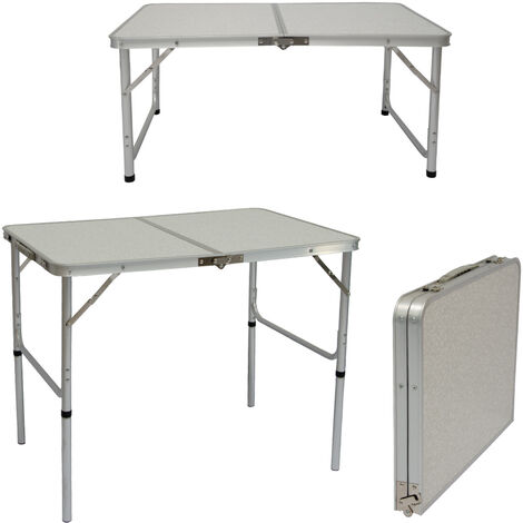 Campingtisch 90cm x60cm Klapptisch Koffertisch Falttisch Gartentisch Balkontisch