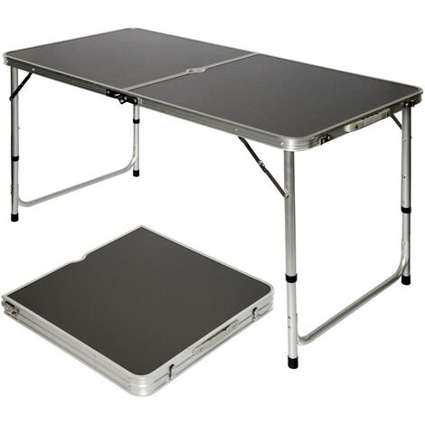 Campingtisch ca.120x60cm Klapptisch Koffertisch Falttisch Hocker Aluminium Tisch
