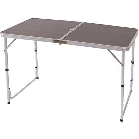 Campingtisch HHG-913, Klapptisch Gartentisch Koffertisch ~ 80x70x60cm