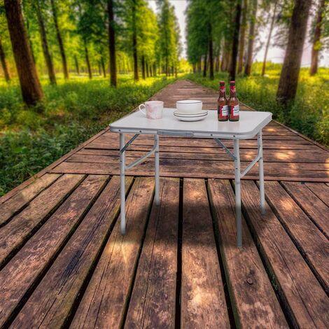 Campingtisch Klapptisch Tischplatte aus MDF CPT8131ws