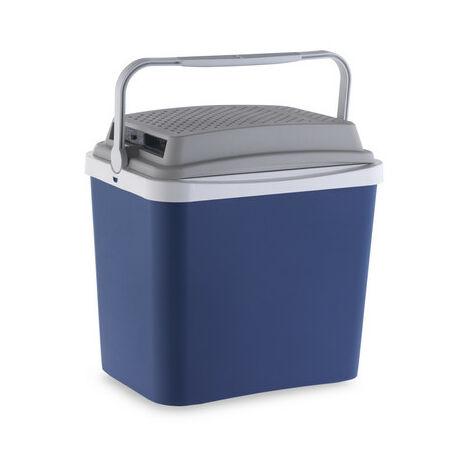 Campos Grey / Blue Electric Cooler 12 V 24 L.