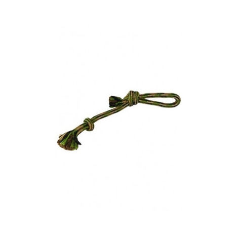 Camuflaje cuerda nudo con asa, 34cm