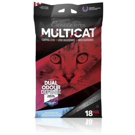 Canada Litter - Litière Multicat Dual Odor Defence pour Chat - 18Kg