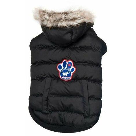 5313d0a9b3 CANADA POOCH Manteau North Pole Parka 14+ - 8/11 kg - Noir - Pour chien
