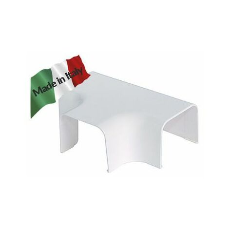 """Canal climatique raccord """"T"""" 90x65mm vecamco"""