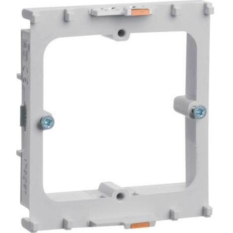 Canal dallège Hager GLT1511 GLT1511 prise encastrable pour appareils (L x l) 71 mm x 64 mm gris clair (RAL 7035) 1 pc(s