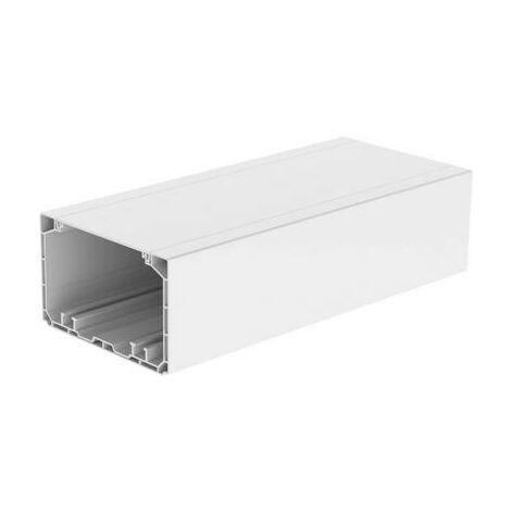 Canal dallège KOPOS PK 110X65 D HD gaine technique pour installations électriques (L x l x h) 2000 x 110 x 67.5 mm blanc 1 pc(s)