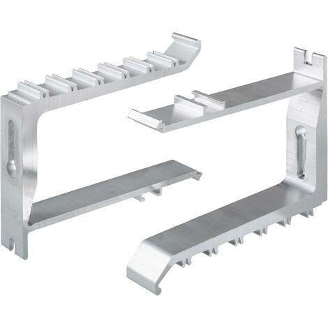 Canal dallège Schneider Electric 5583018 5583018 console fixe (L x l x h) 64 x 28 x 130 mm aluminium 1 pc(s)