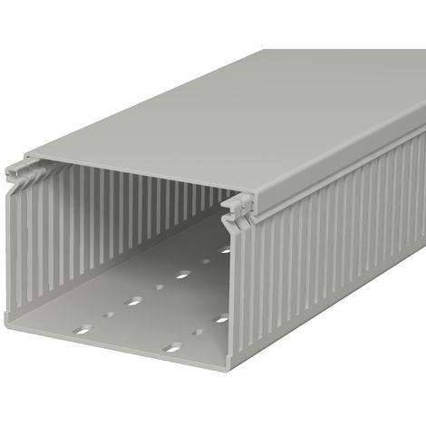 Canal de cuadro, 80x120x2000, PVC, gris pi OBO 6178061