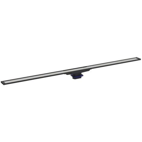 Canal de ducha Geberit CleanLine20, longitud 30-130cm (se puede cortar a medida), color: Metal oscuro / metal cepillado - 154.451.00.1