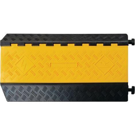 Canal de tuyaux et goulotte de câblage Admi®Canal 698-C L900xl500xH75mm caoutchouc noir 3 unités de 52 mm Stück