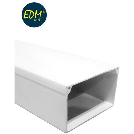 Canal edm 2mts 60x100mm (precio por m)