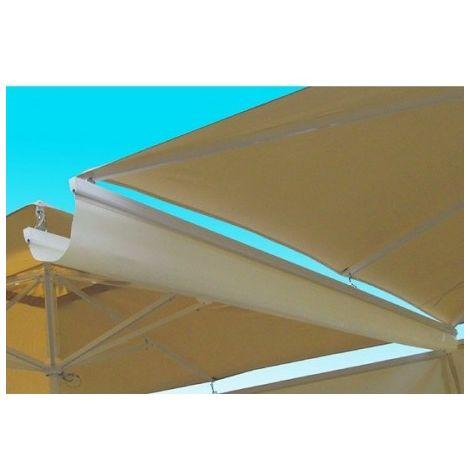 Canal verteaguas para sombrillaes de 3 y 4 metros pho2005010-DESKandSIT-400cm 400cm ACRILICO MARFIL 2143 2005