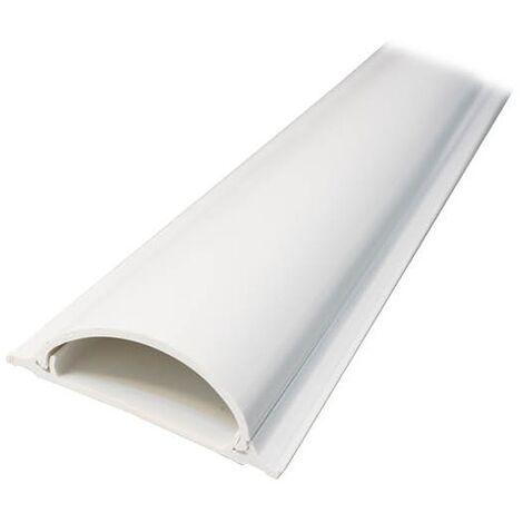 Canaleta eléctrica de suelo adhesiva 2M 25x90mm