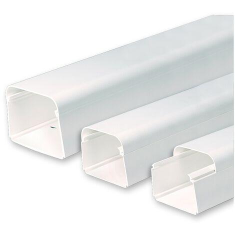 Canaleta para tuberías de aire acondicionado ClimaPlus 2Mts. -Disponible en varias versiones