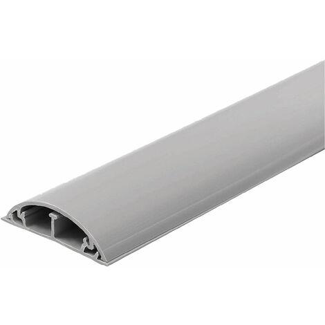 "main image of ""CANALINA PASSACAVI ADESIVA PER PAVIMENTO mm 50 x 12 - lunghezza 1 metro"""