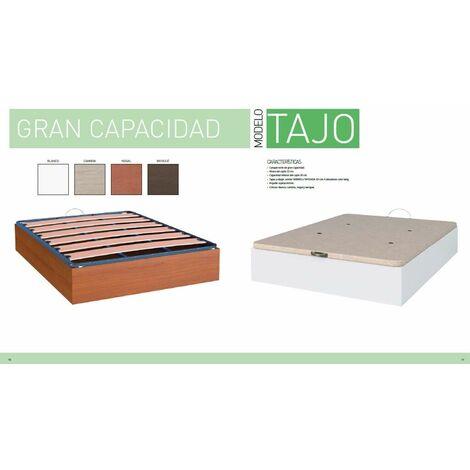 Canape Abatible 90x190 cms con Base Tapizada, color Cambrian, ref-01