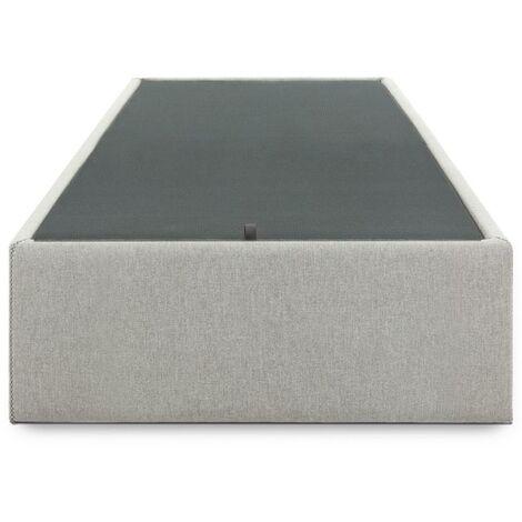 Canapé abatible Matter 90 x 190 cm gris