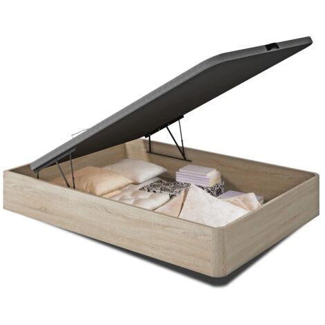 Canape abatible para cama de 135 0 150 cm con base tapizada.