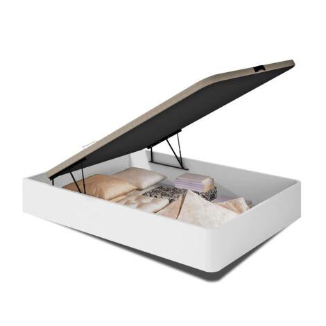 Canape abatible para cama de 135 0 150 cm en blanco 30 cm(alto)135-150 cm(ancho)190 cm(largo)
