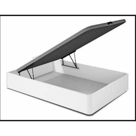 Canape abatible para cama de 90,135 0 150 cm en blanco 35 cm(alto)90-135-150 cm(ancho)190 cm(largo)