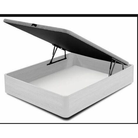 Canape abatible para cama en varias medidas blanco artico 35 cm(alto)90-105-135-150 cm(ancho)190-200 cm(largo)