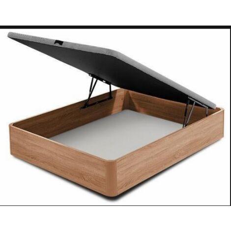 Canape abatible para cama en varias medidas cerezo 35 cm(alto)90-105-135-150 cm(ancho)190-200 cm(largo)