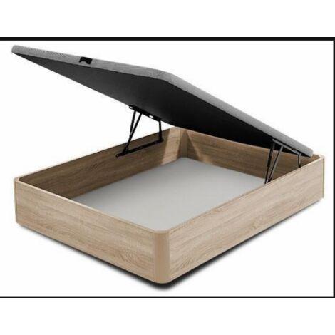 Canape abatible para cama en varias medidas roble canadian 35 cm(alto)90-105-135-150 cm(ancho)190-200 cm(largo)