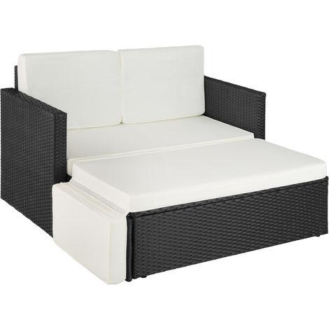 Canapé de jardin CORFOU modulable - table de jardin, mobilier de jardin, fauteuil de jardin