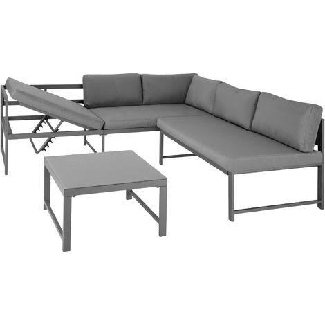 Canapé de jardin FARO 5 places - salon de jardin, table de jardin, mobilier de jardin