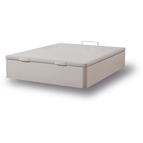 Canapé Fénix de Madera Gran capacidad Blanco 120x200 cm - Montaje a domicilio Gratis
