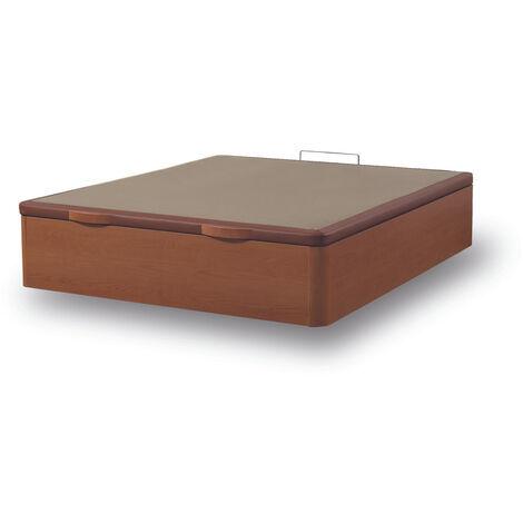 Canapé Fénix de Madera Gran capacidad Cerezo 105x200 cm - Montaje a domicilio Gratis