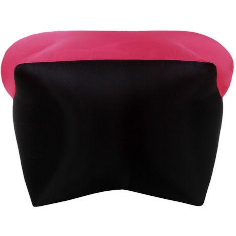 Canape Gonflable, Pour Voyager En Camping En Plein Air, Rose