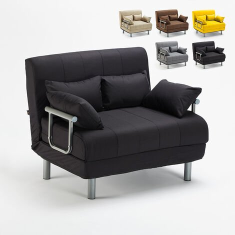 "main image of ""Canapé-lit convertible en tissu Deborah Twin"""
