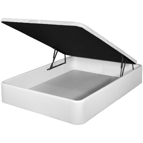 Canapé polipiel apertura frontal color Blanco