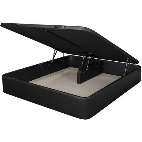 Canapé polipiel apertura frontal color Negro