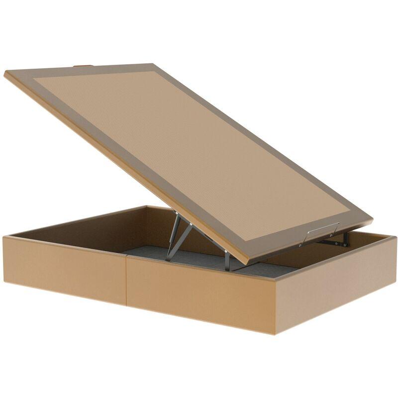 Canapé MAXI GRAN CAPACIDAD Color Principal - Polipiel Oro, 120 x 200 cm. , OPCION TAPA - Con Contorno