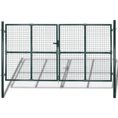 Cancello per Giardino in Rete Metallica 289x175 cm/306x225 cm