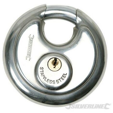 Candado circular de acero inoxidable (70 mm)