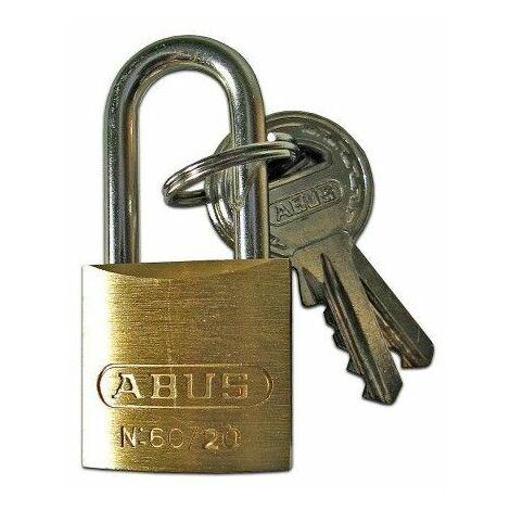 Candado Seguridad 30Mm Arco Largo Laton Abus