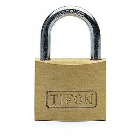 Candado Seguridad 40Mm Arco Corto Llaves Iguales 402 Tifon Laton Ifam