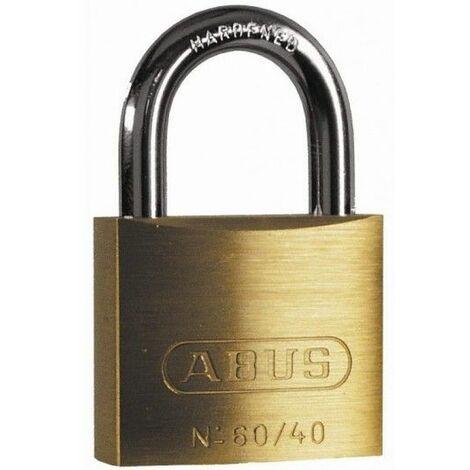 Candado Seguridad 60Mm Arco Corto Laton Abus