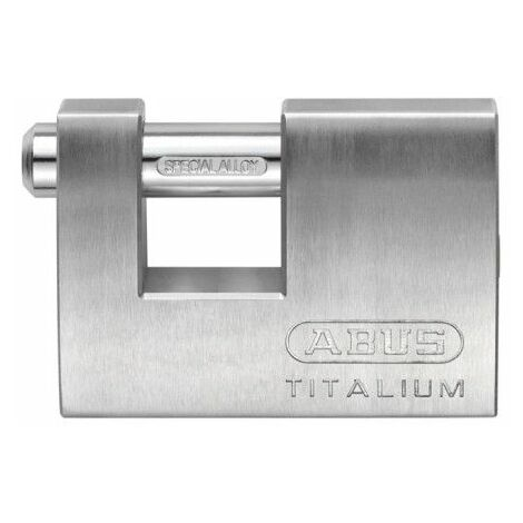 Candado Seguridad 70Mm Arco Rectangular Aluminio Abus