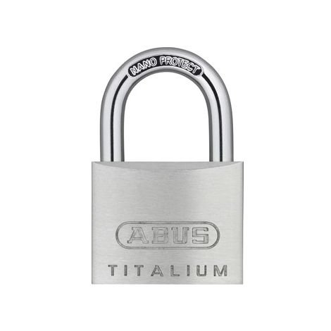 CANDADO TITALIUM - Con llave