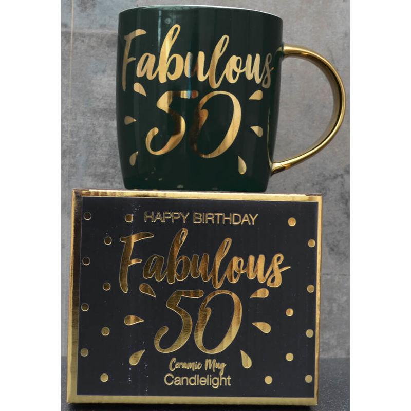 Image of Candlelight Fabulous 30 Mug, Black