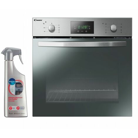 CANDY FOUR CATALYSE encastrable inox 65L Multifonction Tournebroche - Inox