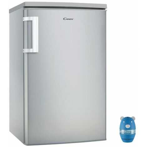 CANDY Réfrigérateur frigo simple porte Table Top inox 97L Froid statique - Inox