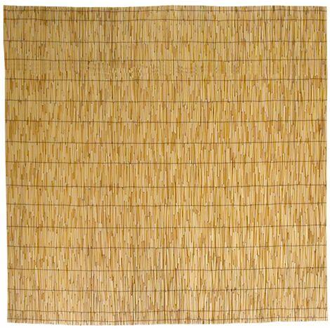 Canisse bambou, Tapis d'ombrage en roseau de bambou 100x300 cm 1x3 m pour la couverture de la cl