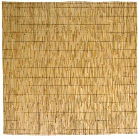 Canisse bambou, Tapis d'ombrage en roseau de bambou 150x300 cm 1,5x3 m pour la couverture de la clôture du jardin, balustrade du balcon